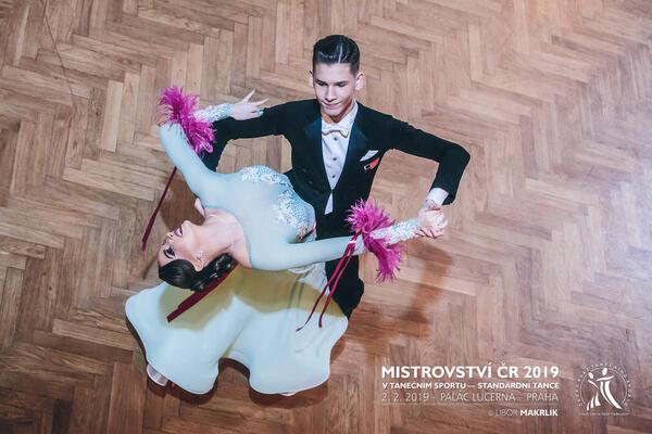 Vilém Kuntoš & Vendula Kábrtová COOL DANCE reprezentanti ČR v tanečním sportu