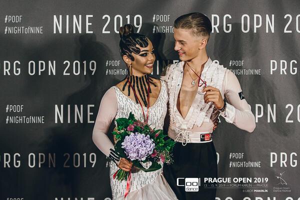 Ondřej Vokurka & Eliška Hřebíčková COOL DANCE Mistři ČR