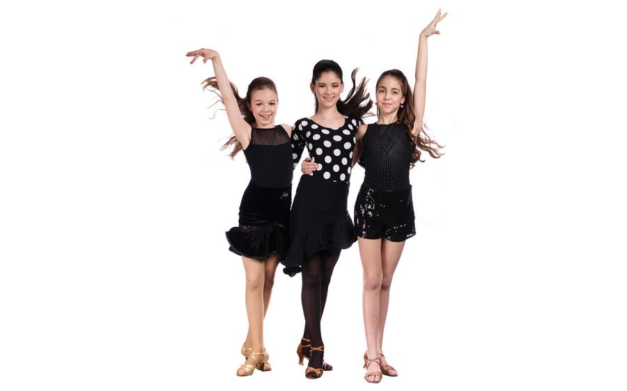Latinskoamerické tance pro dívky v Praze v OD KOtva