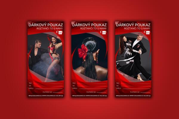 darujte tanec dárkový poukaz taneční studio